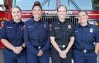 Een volledig vrouwelijk team van brandweerlieden: in Californië is het de eerste keer in de geschiedenis