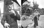 Ende der 1800er Jahre machte ein Junge geheime Fotos von Passanten, als wäre er ein antiker