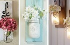 15 idee strepitose per realizzare eleganti supporti per vasi utilizzando il legno di scarto