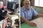Han är 92 år gammal och pluggar fortfarande på universitetet, hans dröm är att bli arkitekt