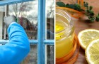 Il procedimento facile e a costo zero per creare un detergente vetri fai-da-te, 100% naturale