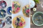 8 spunti irresistibili per riciclare vecchi piatti di vetro con la tecnica del decoupage