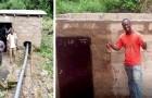 Un insegnante di matematica ha costruito una piccola centrale idroelettrica per illuminare il suo villaggio
