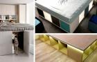 Letto contenitore: 10 idee ingegnose per assemblarne uno in casa in tutta comodità