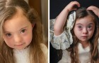 El síndrome de Down no detuvo los sueños de la pequeña Francesca: con sus 4 años ya es una reina de la moda