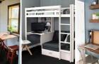 10 solutions d'ameublement ingénieuses, idéales pour trouver de la place même dans les plus petits appartements