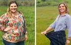 Pensaba de no poder hacer nada contra su obesidad, pero ha logrado perder 55 kilos en un año: hoy es una mujer nueva