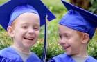 Estos dos gemelos siameses nacieron con todas las expectativas: ahora, festejan la llegada a la primaria