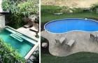 10 strepitose piscine ideali per creare degli angoli relax anche nei giardini più piccoli
