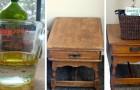 Le simple procédé pour préparer un produit naturel pour le nettoyage et le polissage du bois à la maison