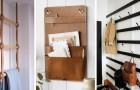 9 soluzioni fai-da-te che sembrano di design per far ordine appendendo oggetti alle pareti