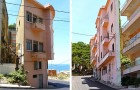 A man builds an a building just to block the oceanfront view from his brother's house