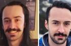 15 foto di uomini che sono appena usciti dal barbiere mostrano come un taglio di capelli possa fare la differenza