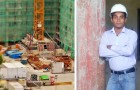 Studiava in cantiere per fare l'architetto: il sogno di un giovane muratore è divenuto realtà