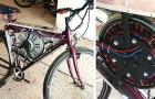 Un garçon crée un vélo électrique en utilisant le moteur d'une machine à laver : il atteint 65 km/h