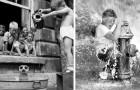 15 foto che ci ricordano come i nostri nonni siano cresciuti sani e salvi senza internet e senza giocattoli alla moda