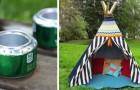 7 modi super-creativi per ricreare la magia del campeggio anche nel giardino di casa