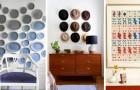 9 idées attrayantes pour décorer les murs de chaque pièce avec des solutions insolites et originales