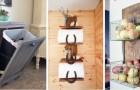 12 mobili fai-da-te in stile rustico semplici da realizzare e perfetti per ricavare spazio extra