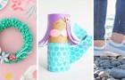 8 strepitosi lavoretti creativi ispirati al magico mondo delle sirene