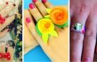 5 tecniche fai-da-te per creare originali anelli giocattolo da realizzare insieme ai bambini