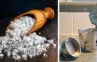 6 utilizzi alternativi del sale, un grande alleato in tante faccende di casa