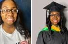 Efter att ha tagit sin universitetsexamen har denna flicka som nyligen fyllt 14 år dessutom en masterexamen
