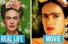 10 attori che hanno dimostrato una somiglianza incredibile con i personaggi famosi che stavano interpretando