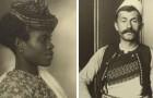 14 foto ritraggono i volti impauriti degli immigrati che arrivavano in America nei primi anni del '900