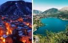 In Italia c'è un piccolo paese con un lago a forma di cuore che incanta tutti i visitatori con le sue bellezze