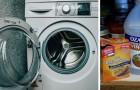 La tecnica casalinga ed economica per eliminare la muffa dalla lavatrice con aceto e bicarbonato