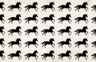 Un jeu visuel amusant : parmi ces chevaux, il y en a quelques-uns différents, mais peu arrivent à les trouver tout de suite