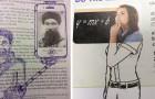 12 tra gli scarabocchi più ironici e creativi che le persone hanno disegnato tra le pagine dei libri