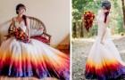 Ein Mädchen bemalt ihr Brautkleid, und die Fotos gehen im Internet herum: Jetzt hat sie ein eigenes kleines Modeatelier