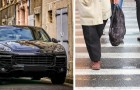Più si ha l'auto costosa, meno si è rispettosi ed empatici con i pedoni, suggerisce uno studio