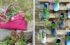 10 idées de recyclage malin pour donner une touche d'originalité à votre jardin ou à votre espace extérieur