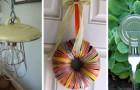 10 idee super-creative per riciclare i coperchi di pentole e barattoli trasformandoli in fantastiche decorazioni