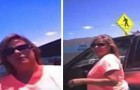 Een vrouw sluit haar hond op in de auto bij 45°C: een politieagent nodigt haar uit om in de auto te gaan zitten om te voelen hoe warm het is