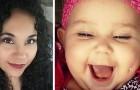 Elle publie une fausse photo de sa fille avec un piercing à la joue : une violente controverse se déclenche sur le web