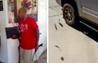 Un papá destruye en mil pedazos la XBox del hijo como castigo: había robado a escondidas a sus hermanos