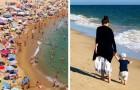 Sie bittet um Abstand am Strand, weil ihr Sohn eine Transplantation hinter sich hat, aber wird daraufhin angegriffen: