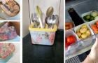 10 progetti di riciclo creativo per trasformare le vaschette dei gelati in contenitori belli e funzionali