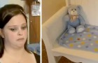 A couple lose their baby and decide to sell their crib: the buyer transforms it and gives it back as a gift