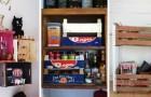 8 trovate brillanti per riciclare le cassette della frutta e trasformarle in originali mobili e complementi d'arredo