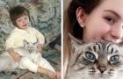 13 persone confrontano le foto dei loro gatti da piccoli e da grandi: sono adorabili compagni di vita