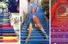 13 scalinate da tutto il mondo che sono un vero tripudio di colori e originalità