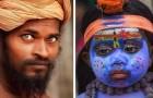 Tijdens een reis naar India fotografeert ze de lokale bevolking: de mensen lijken met hun ogen te spreken