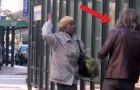 A vampire wanders in town, looking for blood !!! HILARIOUS PRANK !