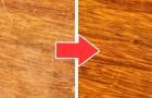 I migliori rimedi fai-da-te per riparare i graffi sul legno usando