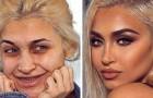 15 comparações antes e depois de algumas maquiagens que deixaram as protagonistas quase irreconhecíveis